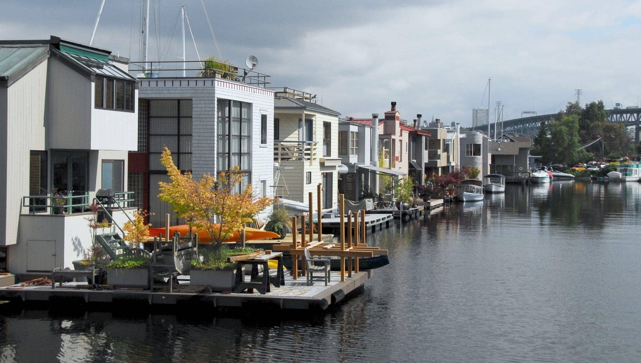 Living on a houseboat?