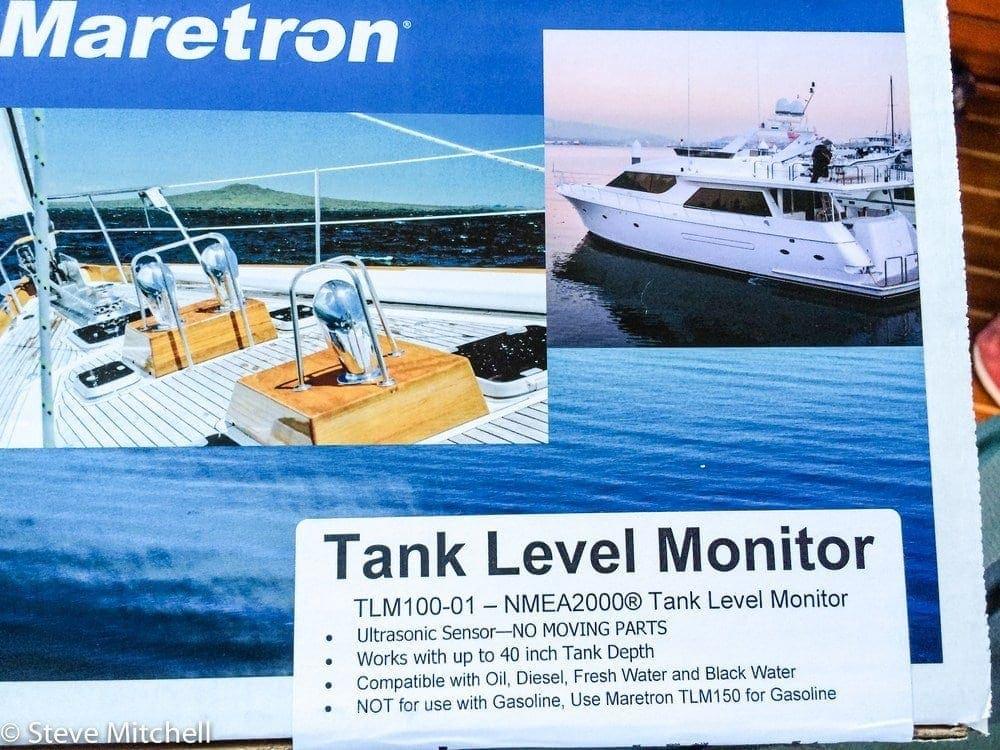 TLM100 NMEA 2000 tank monitor
