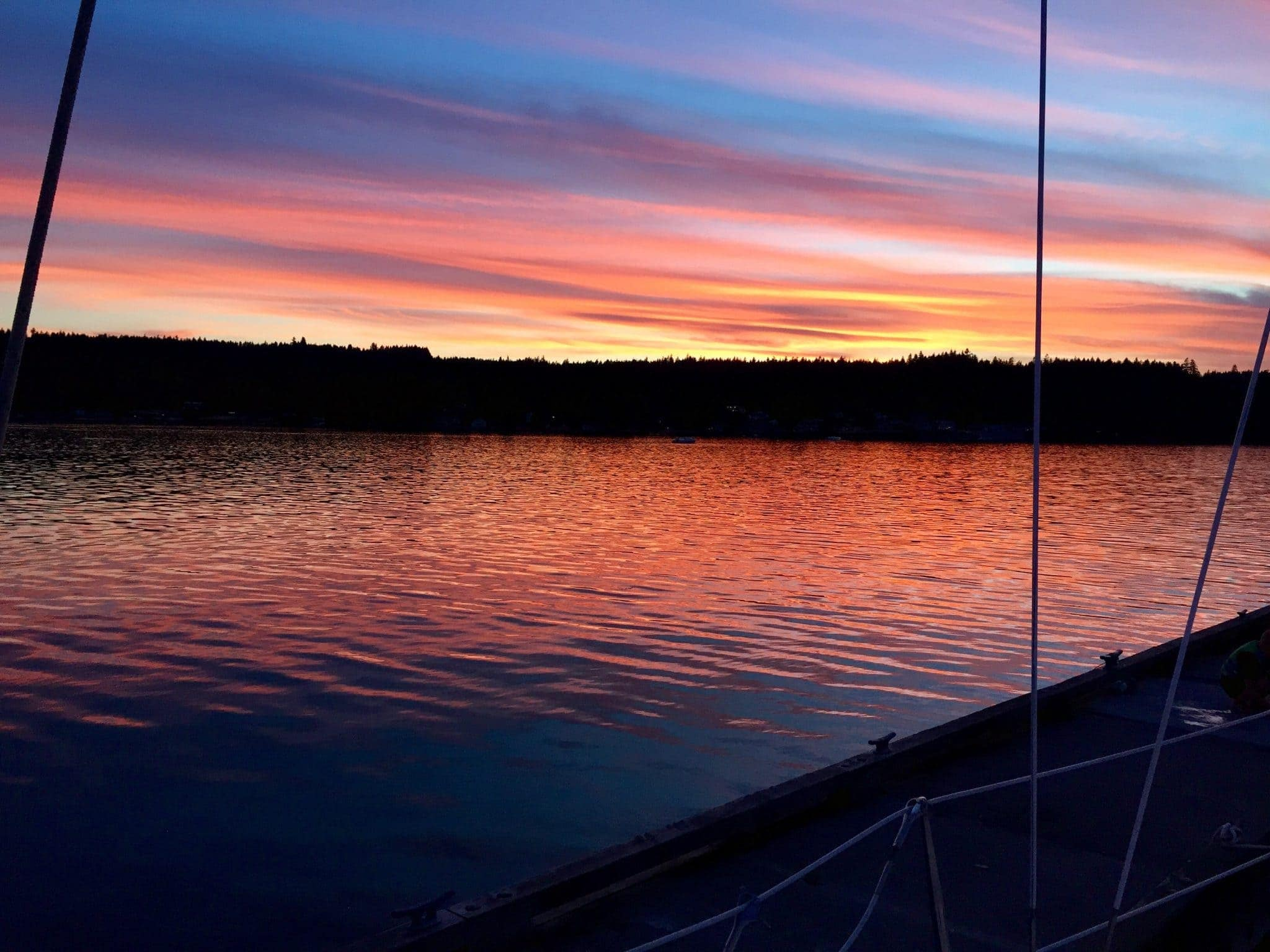 Sunset at Poulsbo