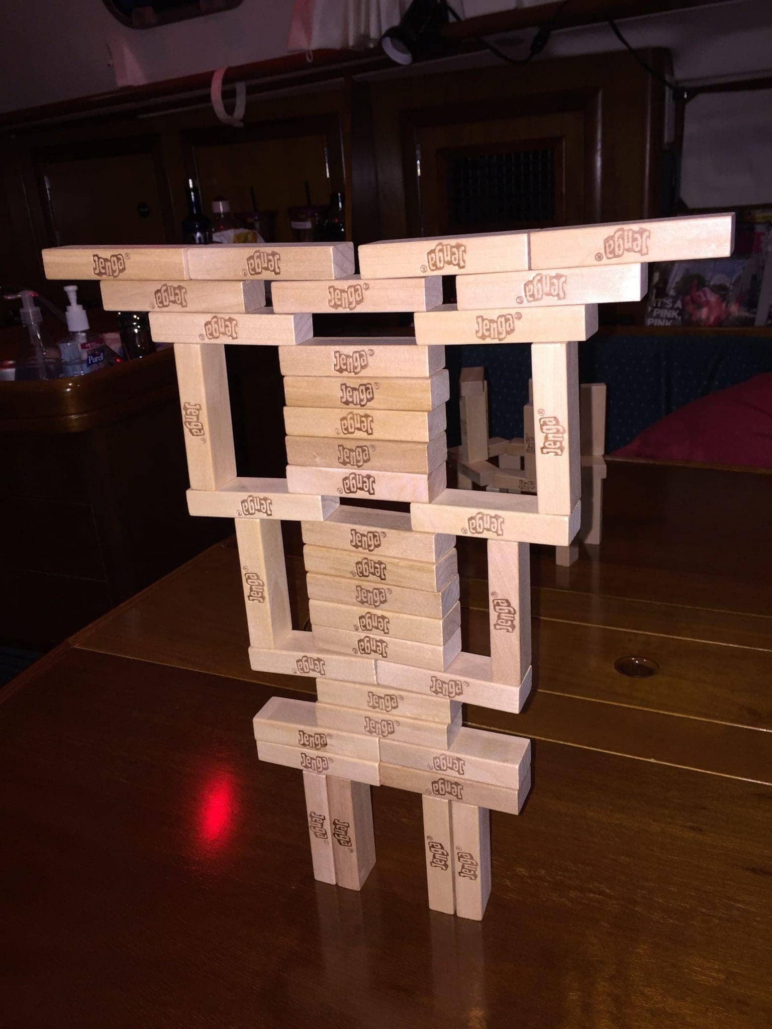 Jenga monster