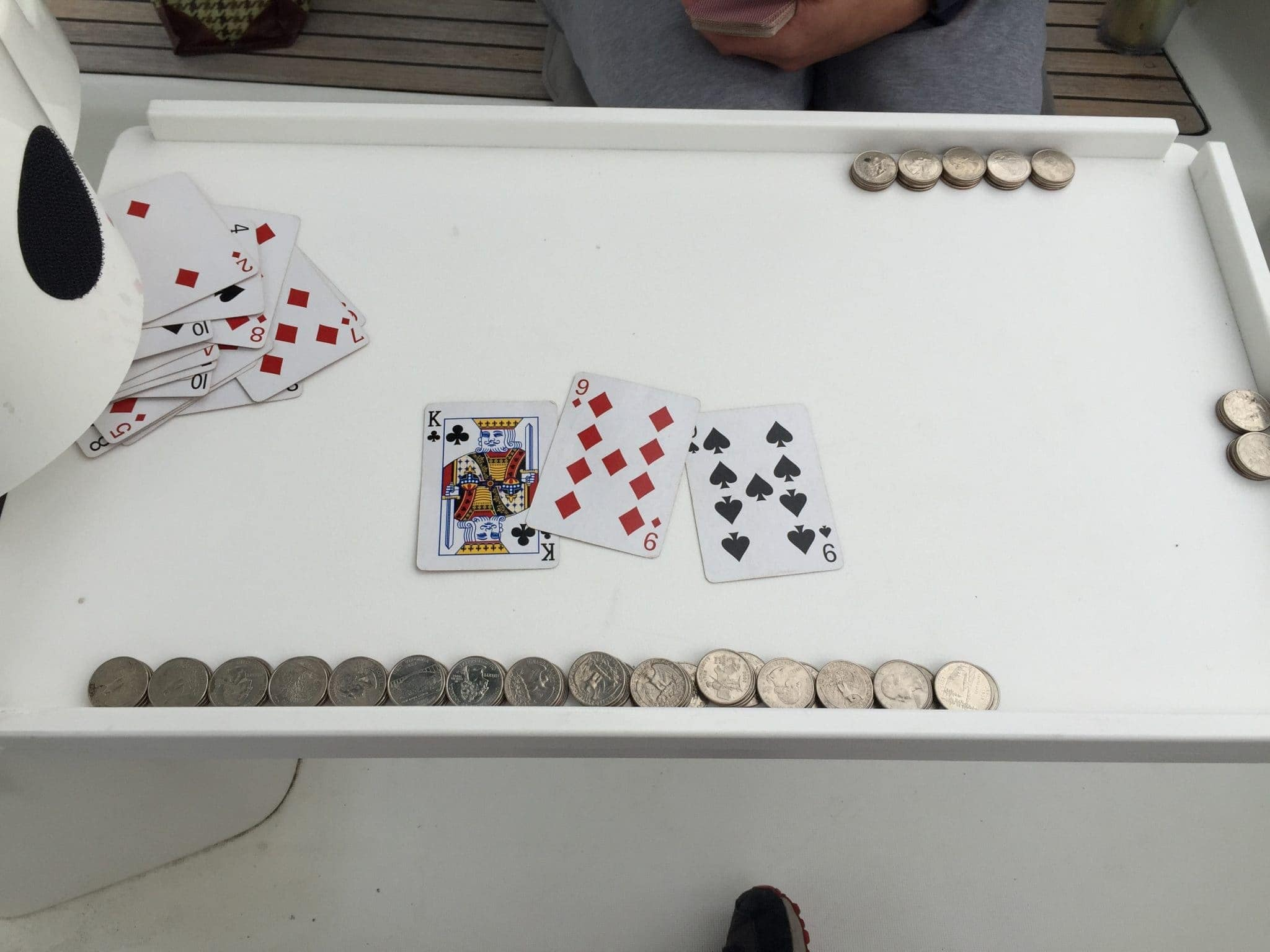 Card games on Grace