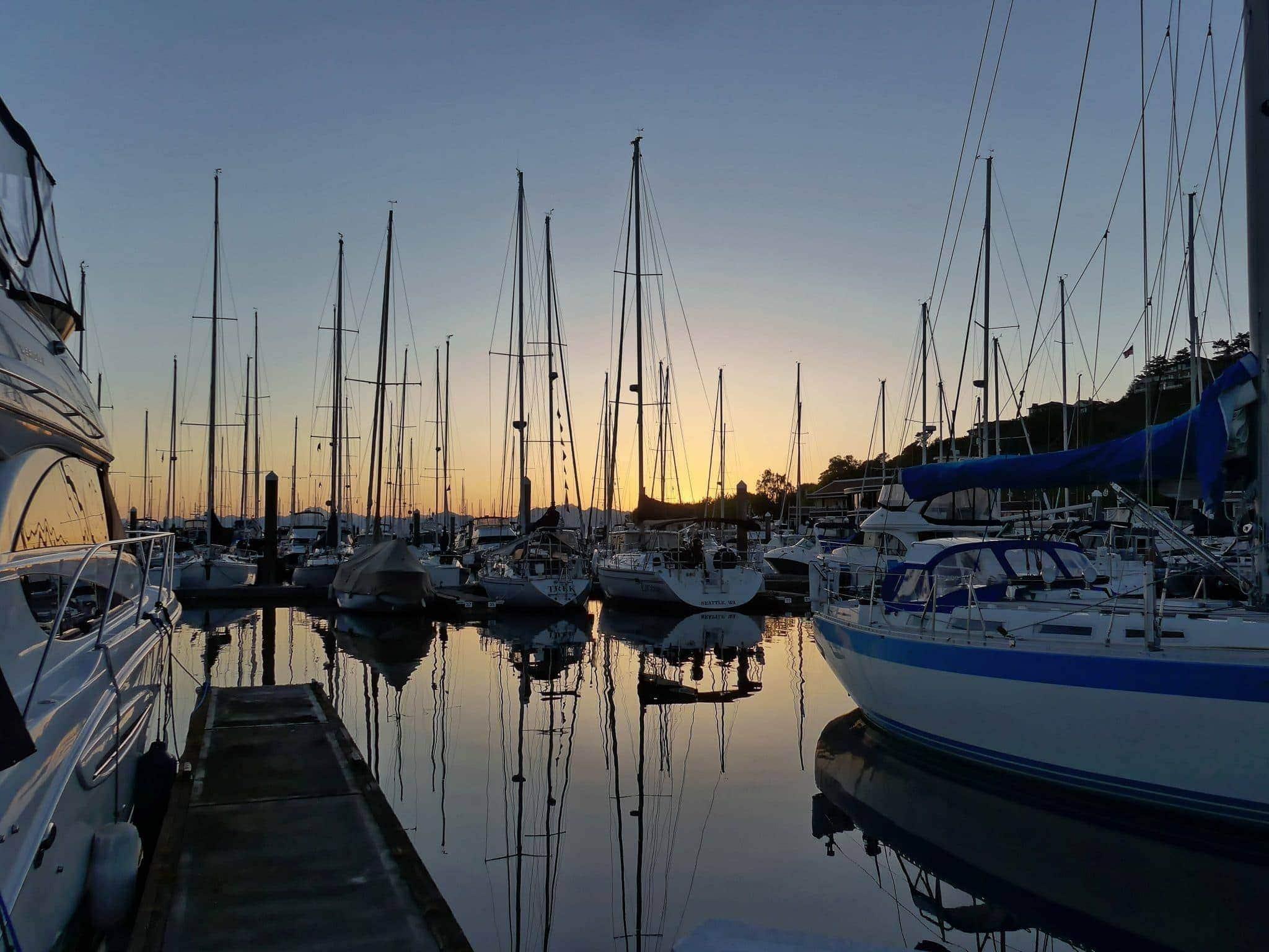 A fantastic sunset