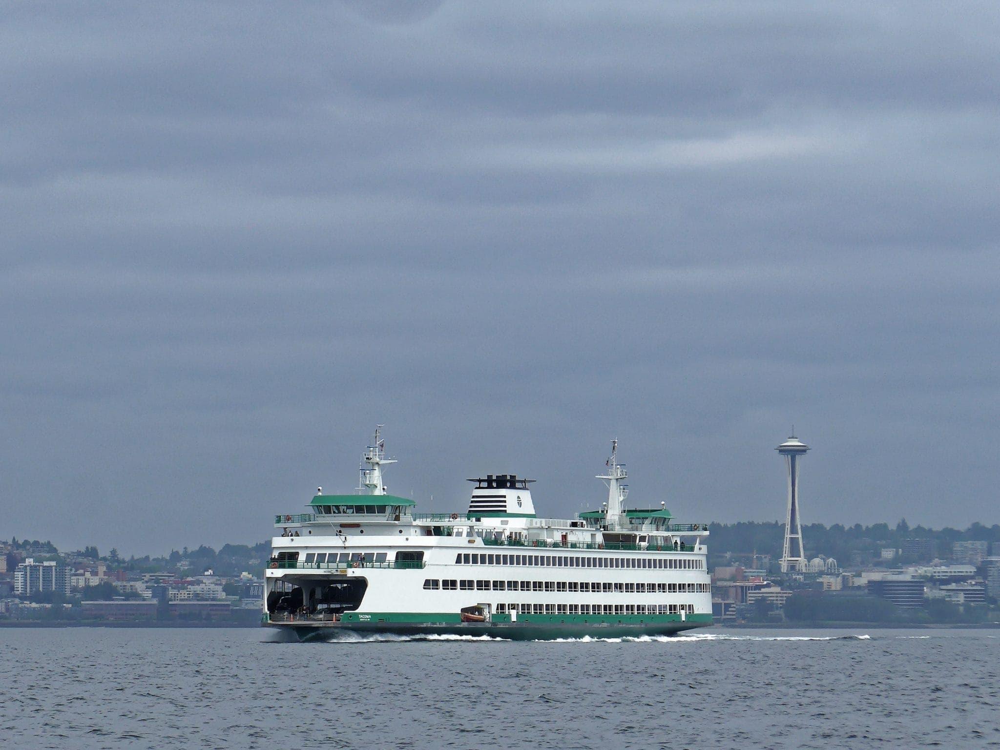 WSF Tacoma headed towards Bainbridge Island