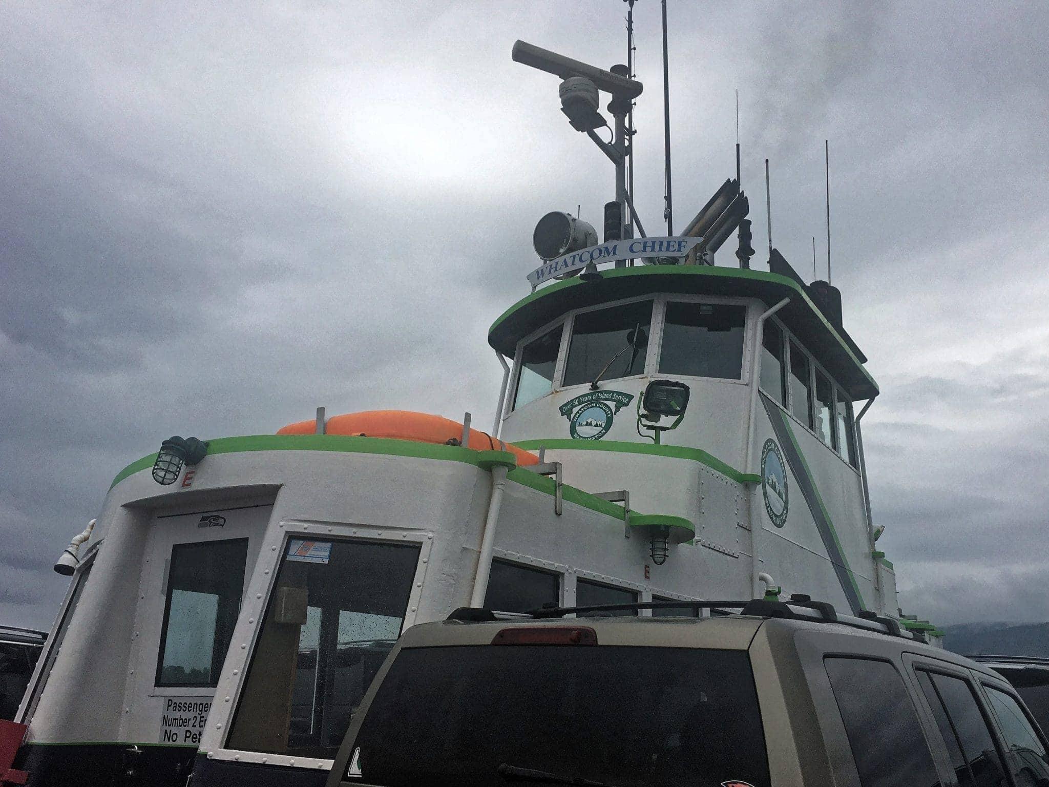 Lummi Island Ferry Whatcom Chief