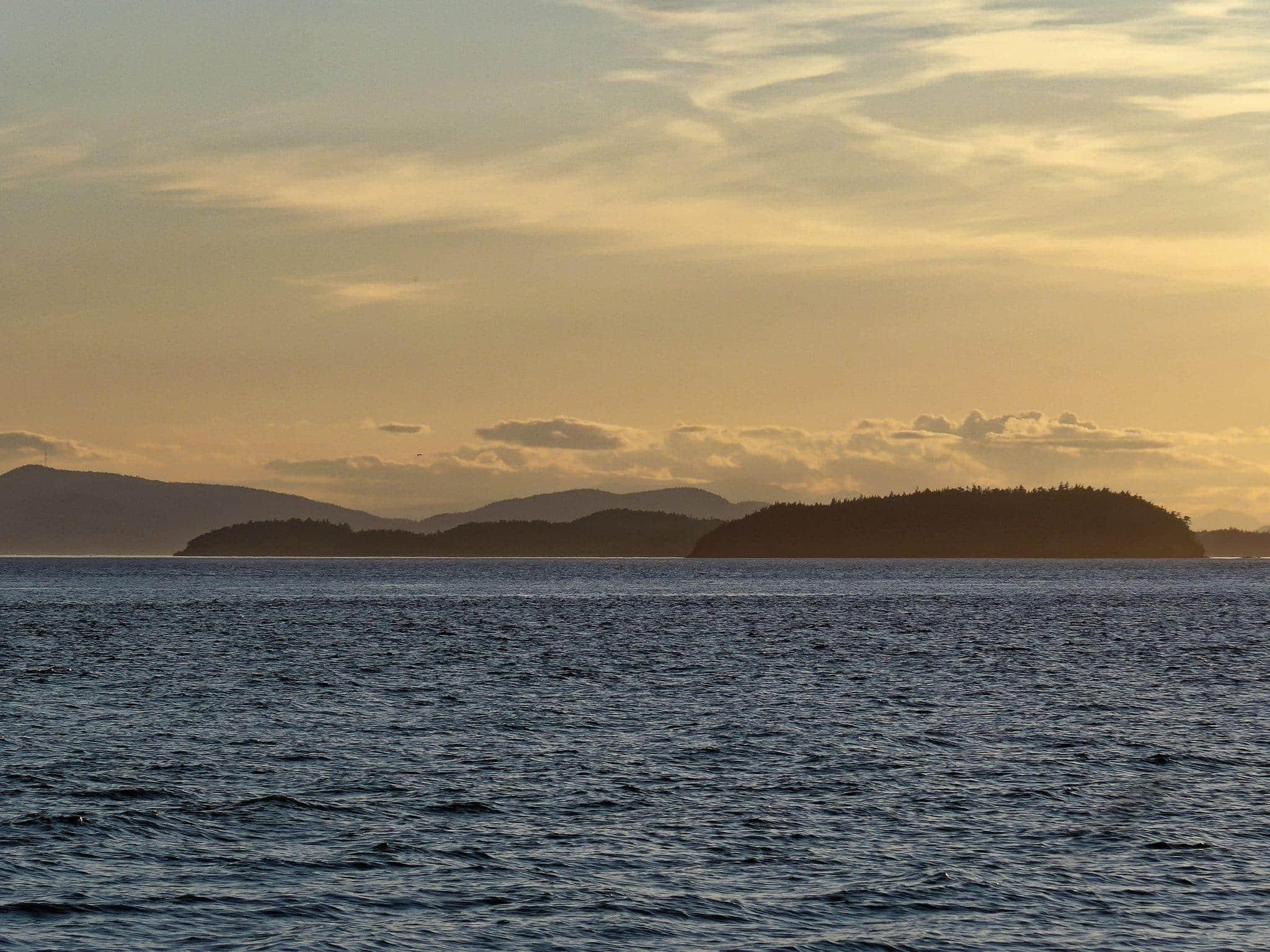 Sucia Island from Lummi Island