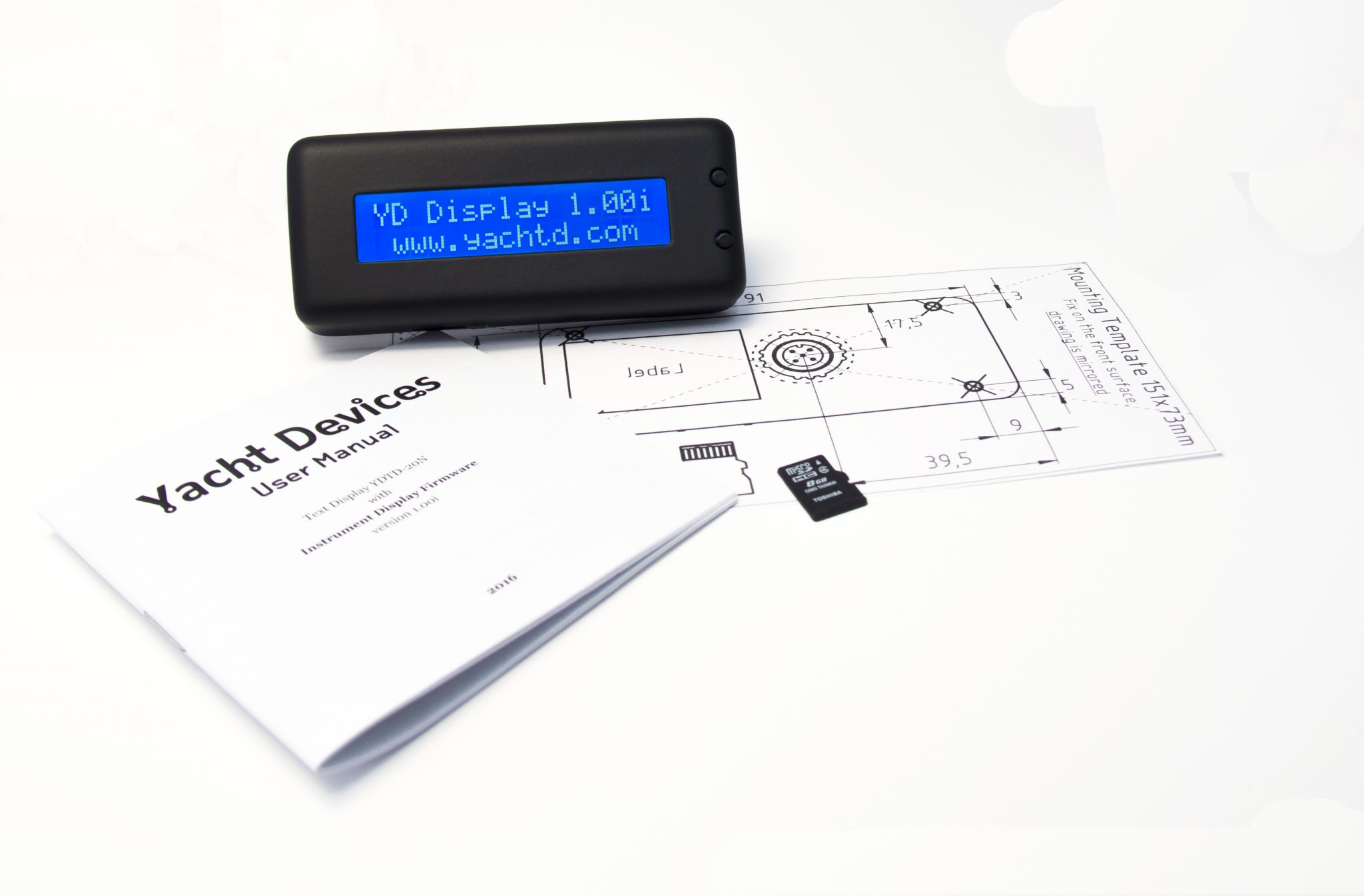 Text Display YDTD-20N Power On