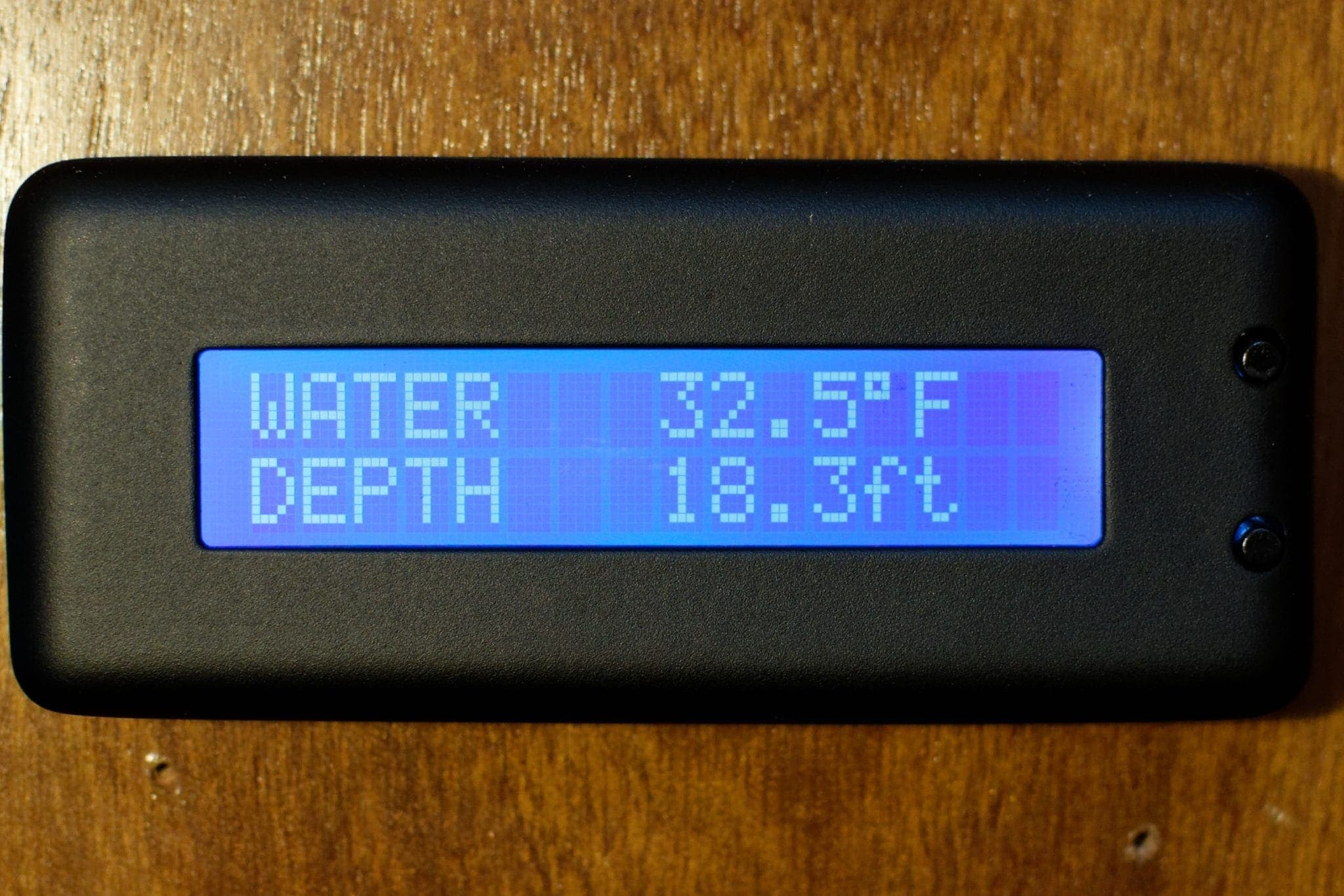 Yacht Devices Text Display Water