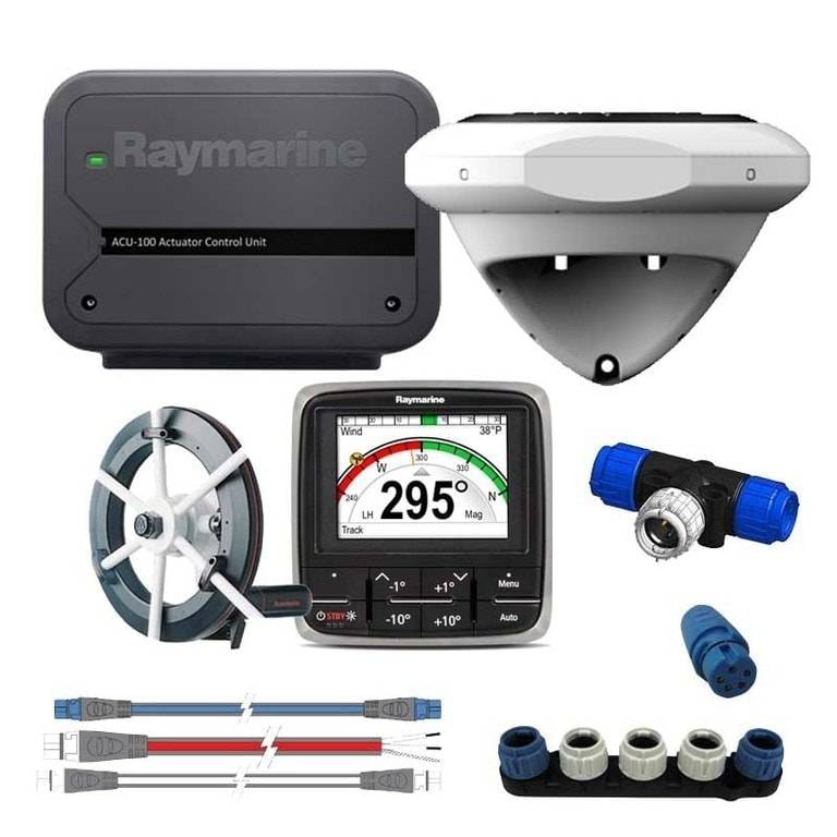 Raymarine EvolutiRaymarine Evolution EV-100 sail system