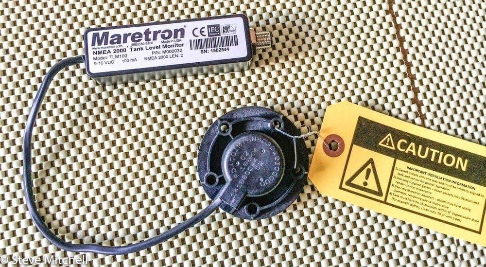 Maretron ultrasonic tank level monitor