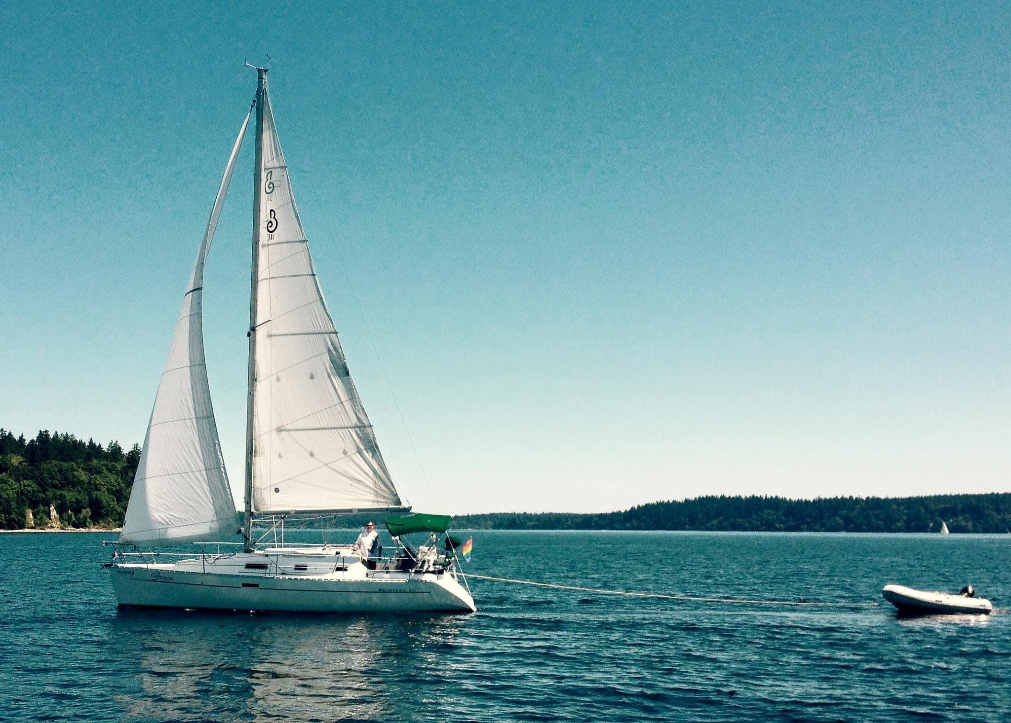 Grace under sail
