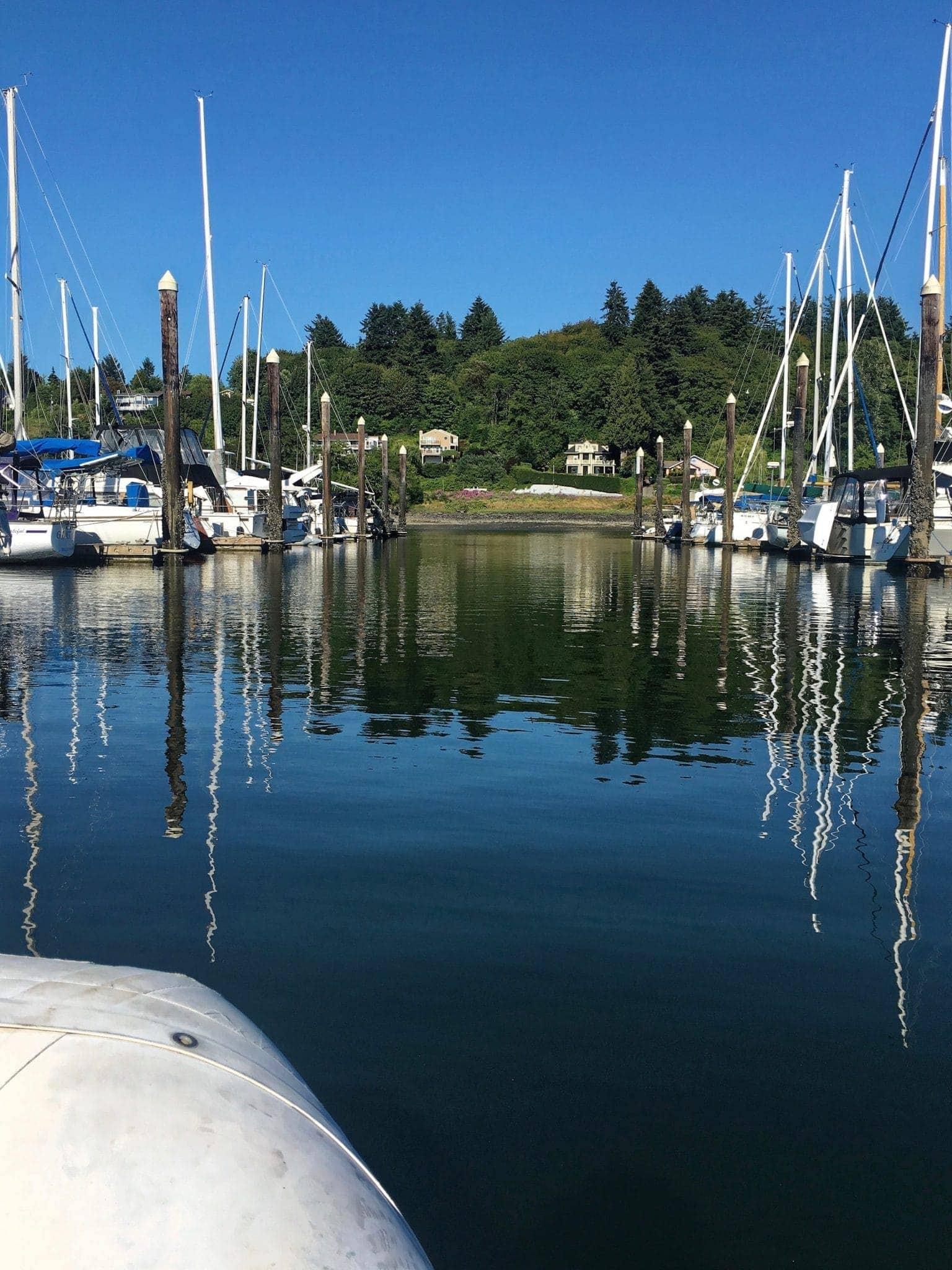 Exploring Swantown docks