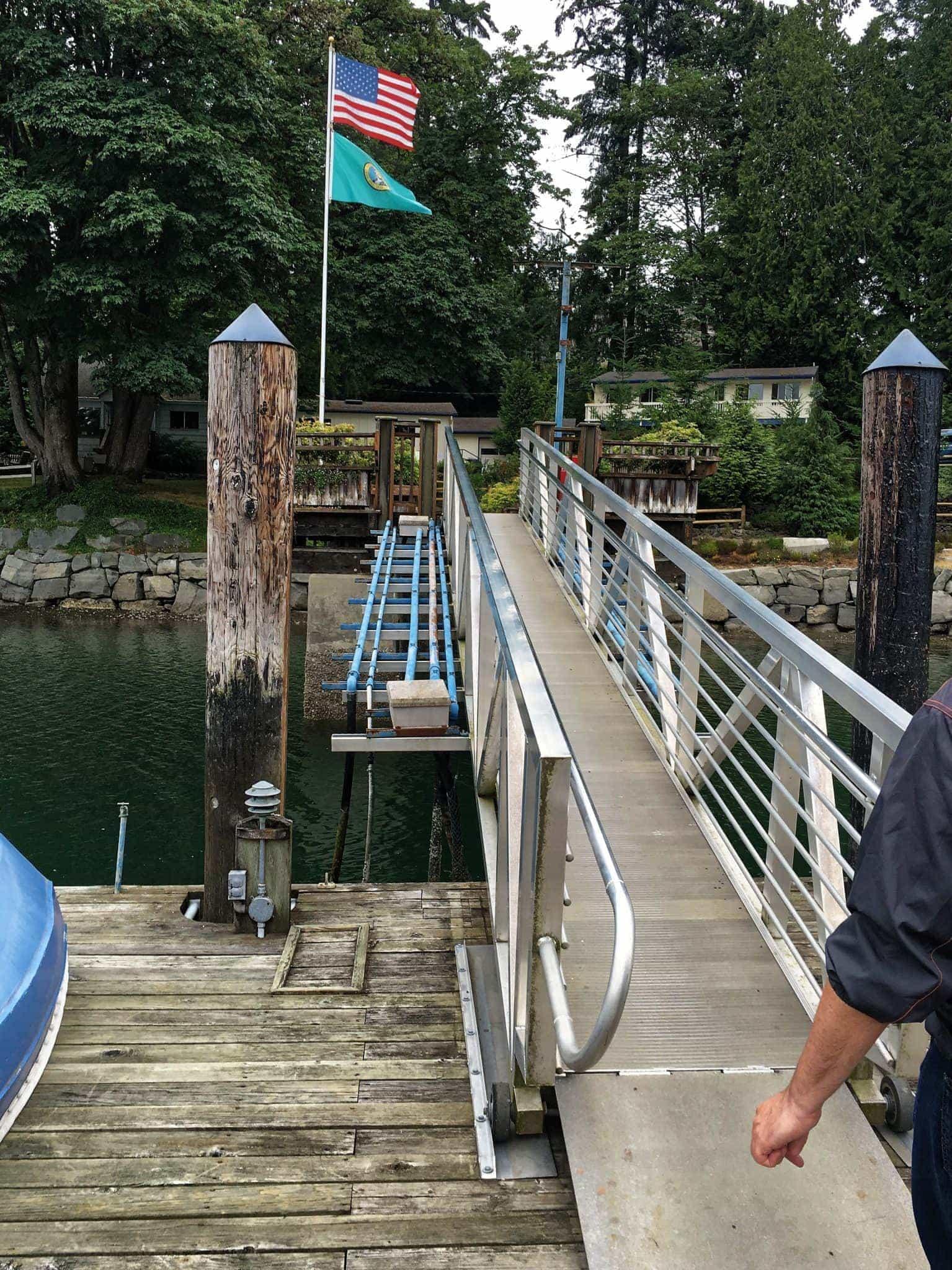 Jarrell Cove Marina ramp