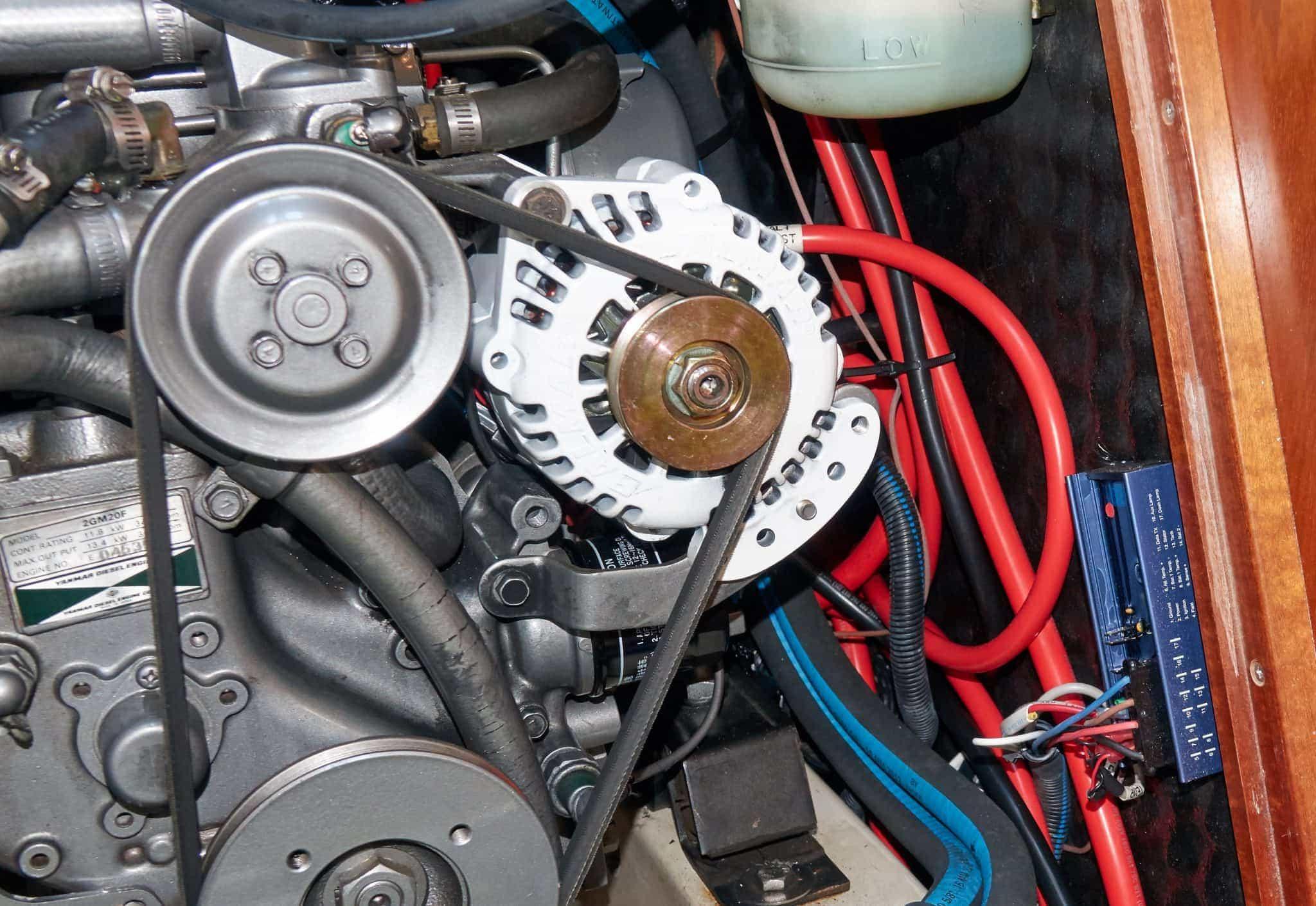 Balmar alternator and regulator