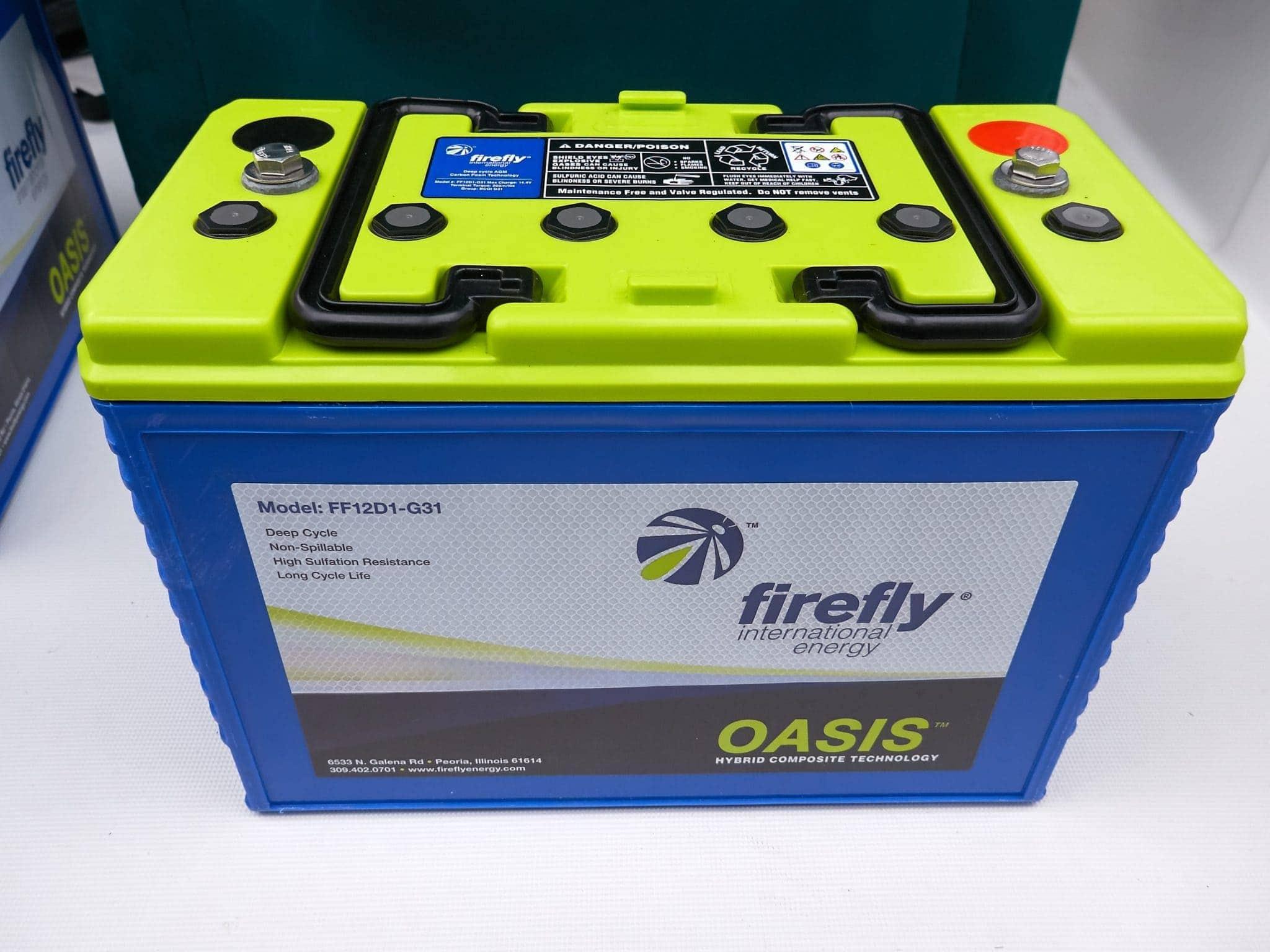 Firefly G31 battery
