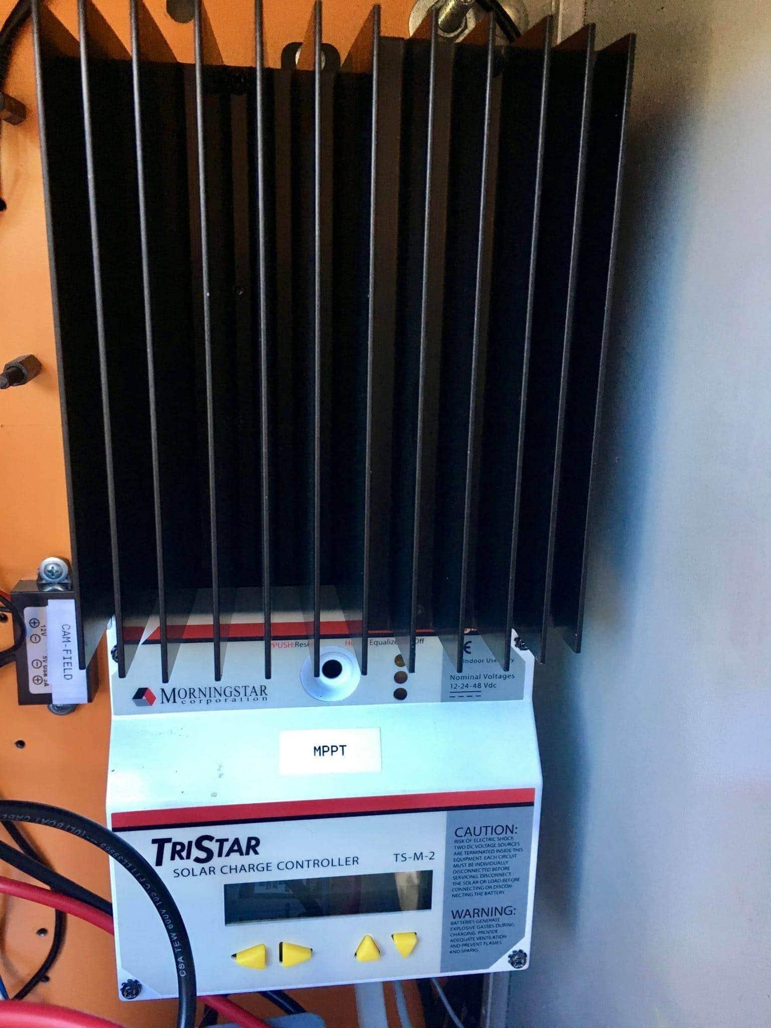 MorningStar TriStar MPPT solar controller