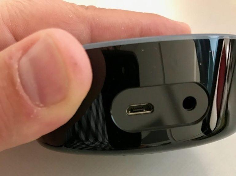 The USB port