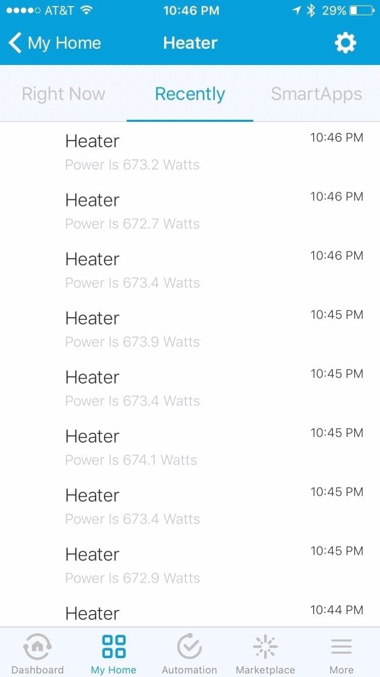 Heater wattage records