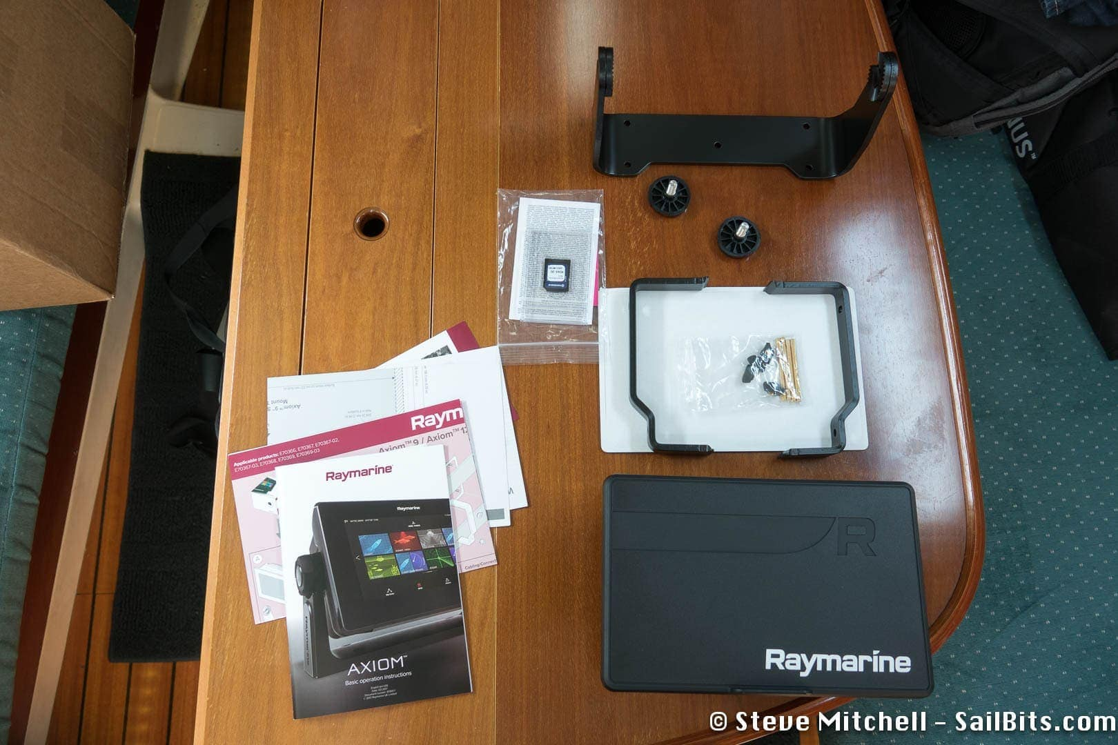 Raymarine Axiom and Lighthouse 3 first impressions