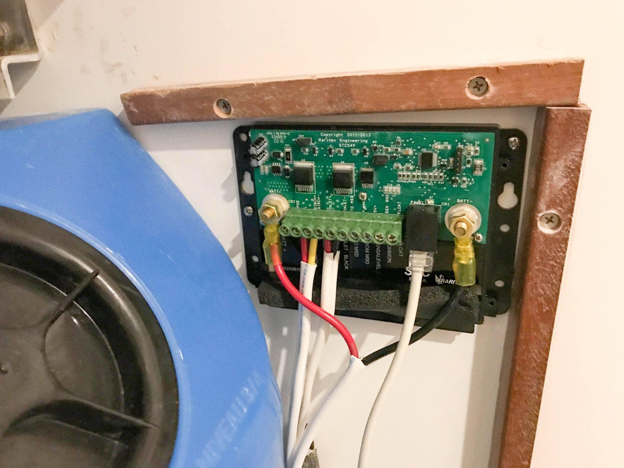STC box mounted