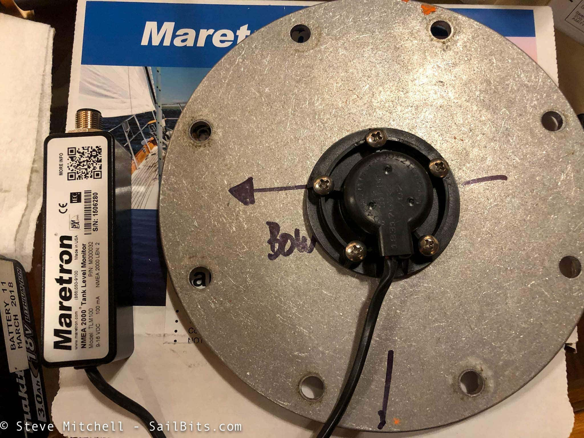 Diesel tank monitoring with Maretron TLM