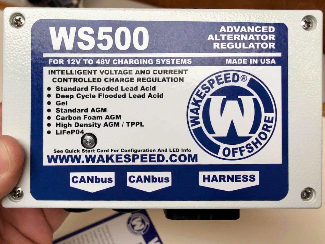 Wakespeed WS-500 regulator review