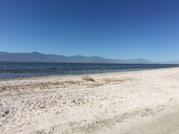 The Salton Sea and Palm Springs