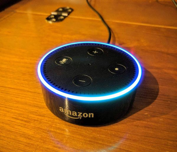 Amazon Echo Dot is perfect for the sailboat